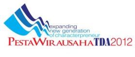 logo pesta wirausaha TDA 2012 final
